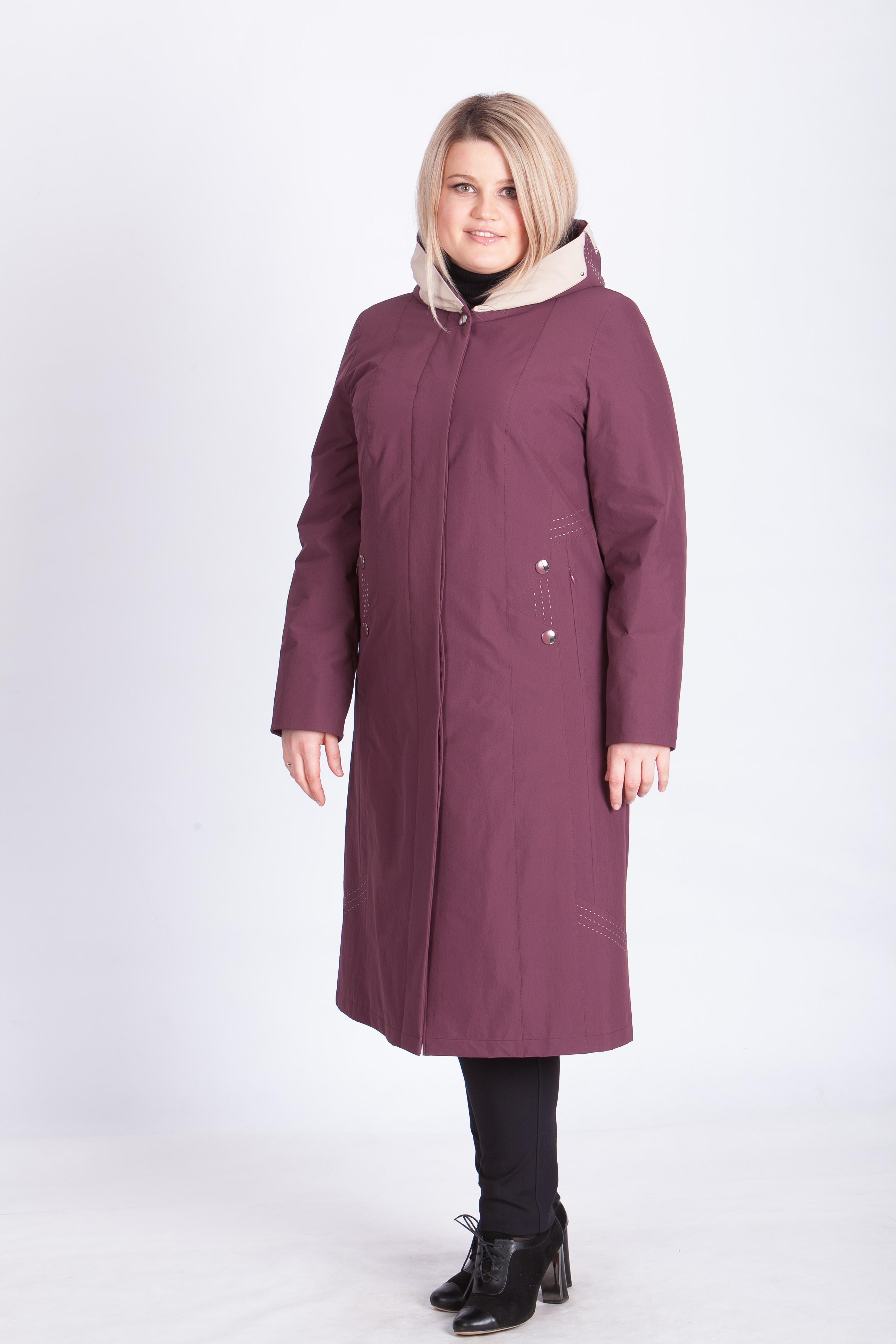Модель: ЕП 987, Цвет баклажан, размер 54 . Цена 11500 рублей.
